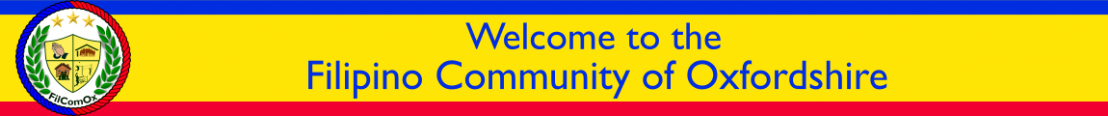 Welcome to the Filipino Community of Oxfordshire
